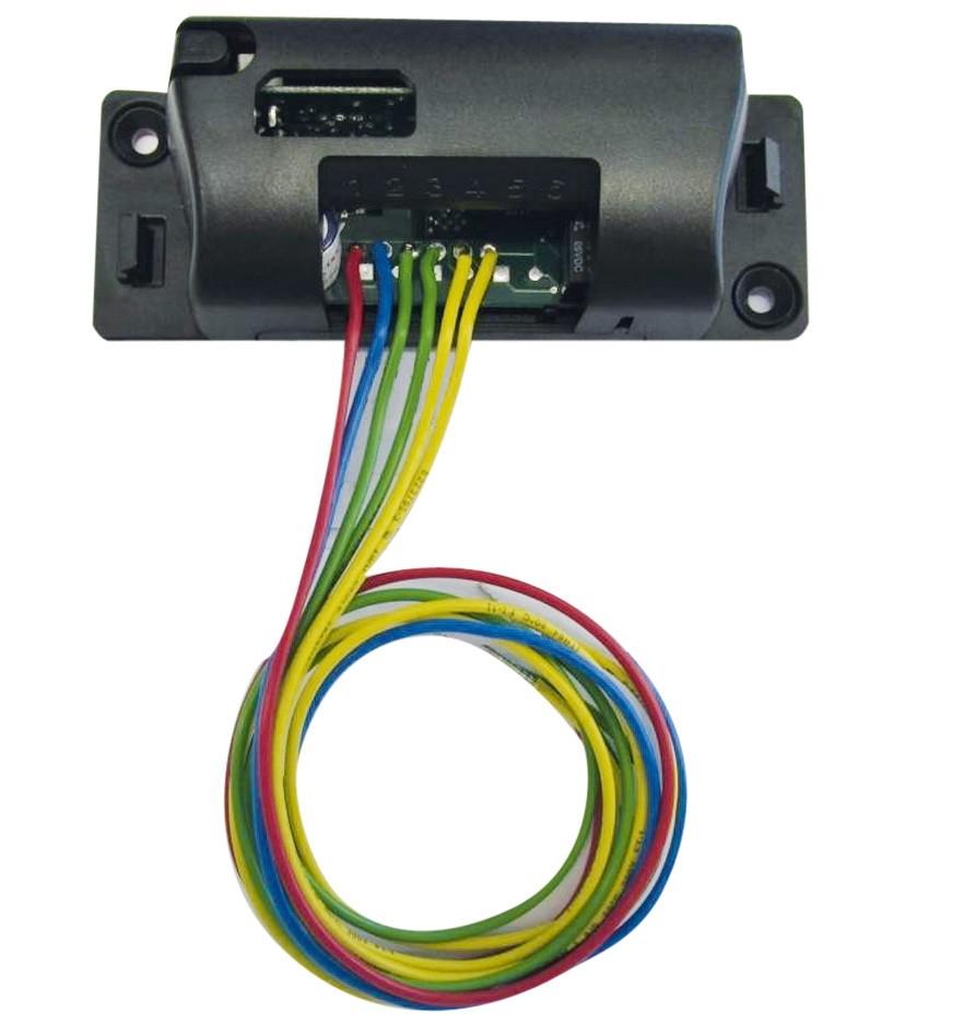 Funkempfängermodul im Gehäuse (2-Kanal), mit 112 Funkcodes und Kabel