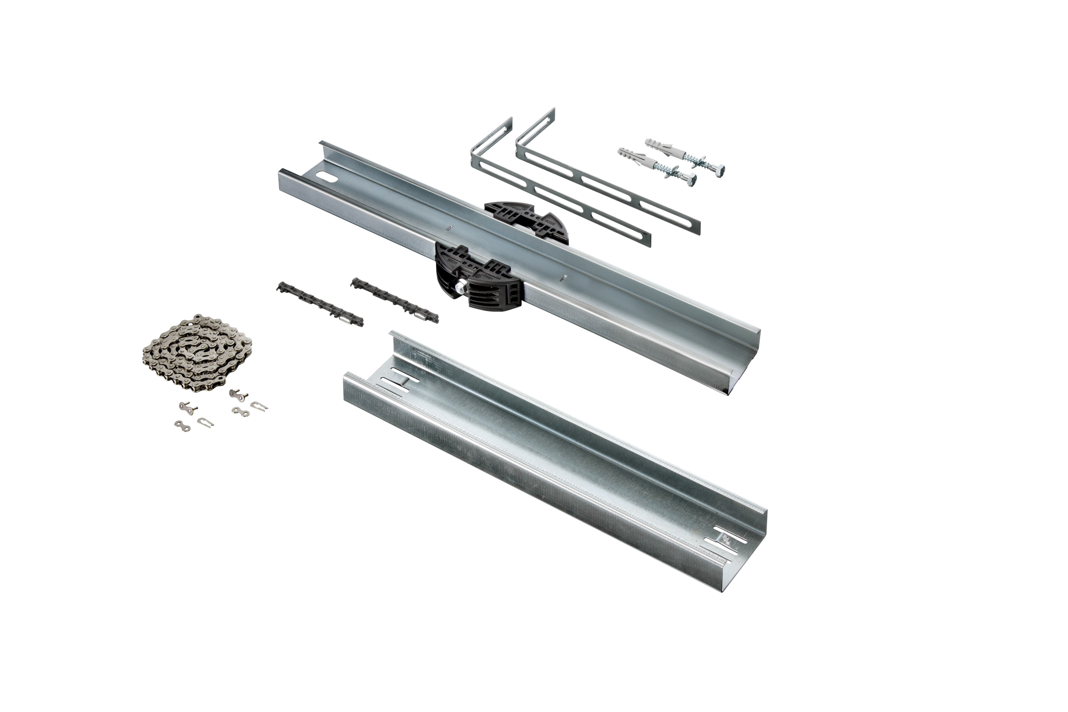 Schienenverlängerung für Garagentorantrieb A 550 L, A 800 XL