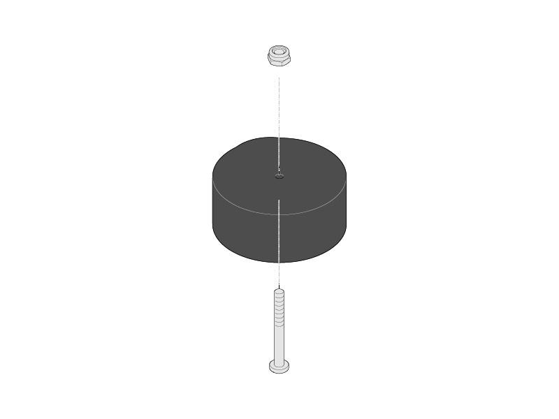 Sommer-Aperto-Torantrieb-Ersatzteil-Trafo-Ringkern-8911V000