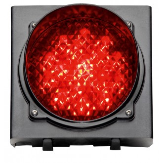 LED-Ampel rot