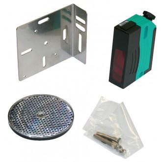Reflektions-Lichtschranke mit Polfilter