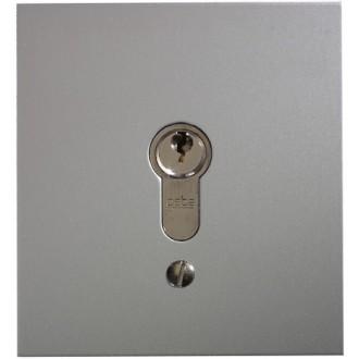 Schlüsseltaster im Metallgehäuse, 1-Kontakt mit Zylinder (Unterputz), 3 Schlüssel