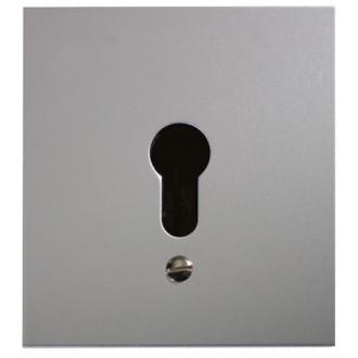 Schlüsseltaster im Metallgehäuse, 1-Kontakt ohne Zylinder (Unterputz)