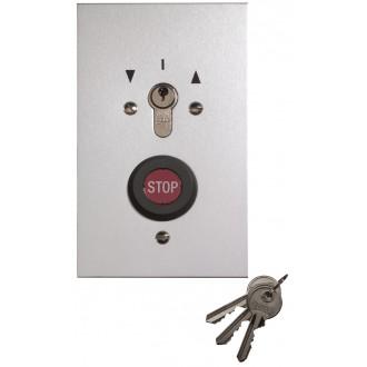Schlüsseltaster im Metallgehäuse, Unterputz