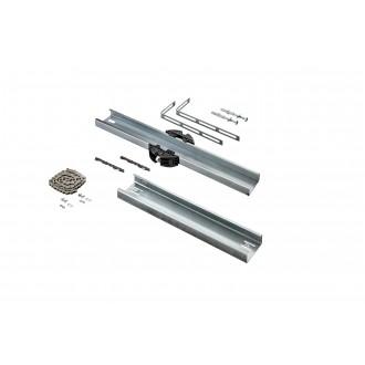Schienenverlängerung (543 mm) für Garagentorantrieb A 550 L, A 800 XL