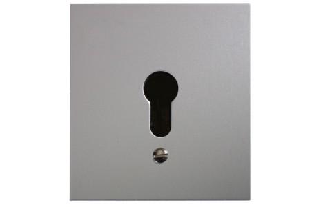Schlüsseltaster im Metallgehäuse, 2-Kontakt ohne Zylinder (Unterputz)