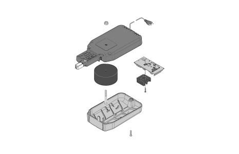Sommer-Aperto-Torantrieb-Ersatzteil-Deckensteuerung-100VA